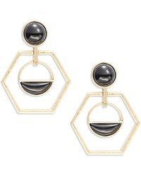 Catherine Stein - Geo Drop Earrings - Lyst