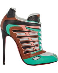 Christian Louboutin Boltina Ankle Booties multicolor - Lyst