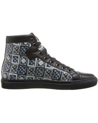Viktor & Rolf Dutch Artist Piet Parras Monsieur Printed Leather Sneaker - Lyst