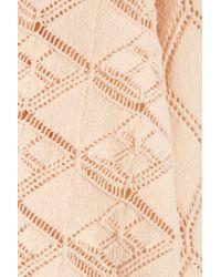 Jill Stuart - Christine Pointelleknit Sweater - Lyst