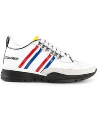 DSquared² Striped Sneakers - Lyst