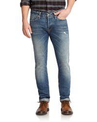 Jack Spade Straight-Leg Selvage Jeans - Lyst