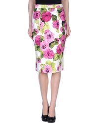 D&G 34 Length Skirt - Lyst