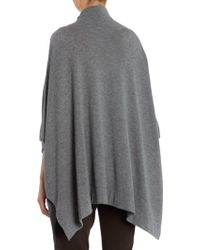Part Two - Soft Cashmere Blend Poncho - Lyst