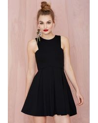 Nasty Gal Ingrid Knit Dress - Lyst