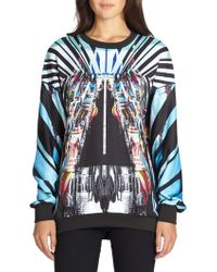 Clover Canyon Glacial City Fleecelined Sweatshirt - Lyst