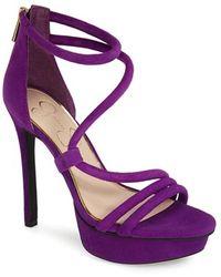 Jessica Simpson 'Caela' Platform Sandal - Lyst