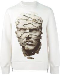 Neil Barrett Abstract Print Sweatshirt - Lyst