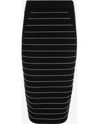 Ted Baker | Shelpa Stripe Knitted Midi Skirt | Lyst