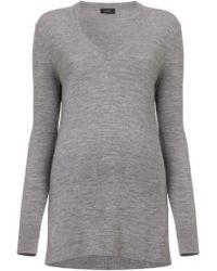 Joseph V-Neck Merino Wool Sweater - Lyst