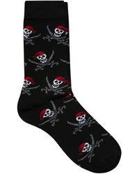 Asos Socks with Skull Pirate Design - Lyst