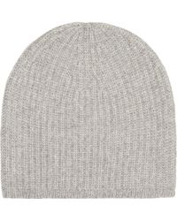 Denis Colomb - Ribbed-knit Cashmere Beanie Hat - Lyst