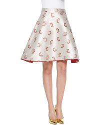 ERIN Erin Fetherston - Candy Floral-Print A-Line Skirt - Lyst