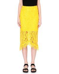 Sandro Jaime Lace Skirt - For Women - Lyst