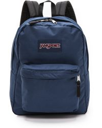 Jansport Classic Superbreak Backpack  Navy - Lyst