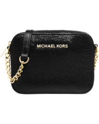 Michael Kors Michael Jet Set Travel Crossbody - Lyst