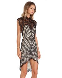 Lover Venus Fitted Dress - Lyst