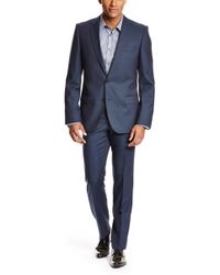 Hugo Amaroheise  Slim Fit Virgin Wool Suit - Lyst