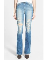 Joe's Jeans 'Collector'S Edition' Destructed Flare Jeans - Lyst