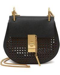 Chlo�� Drew Mini Bag in Beige (ivory) | Lyst