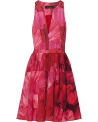 Thakoon Floralprint Cottonvoile Dress - Lyst