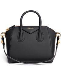 Givenchy 'Antigona' Small Rubberised Pvc Bag black - Lyst