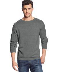 Weatherproof Vintage Long-Sleeve Crew-Neck Sweater - Lyst
