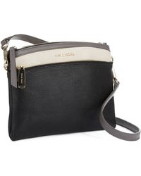 Cole Haan Leather Crossbody Bag - Lyst