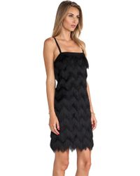 Milly Fringe Dress - Lyst