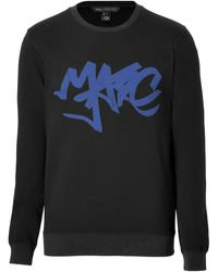 Marc By Marc Jacobs Cottonjersey Marc Tag Sweatshirt - Lyst