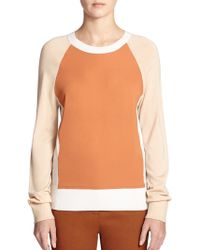 Reed Krakoff Colorblock Raglan Sweater - Lyst