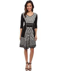 Nic+zoe Half Moon Twirl Dress - Lyst