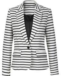 Part Two - Breton Striped Stretchy Jacket. - Lyst