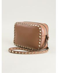Valentino Rockstud Cross Body Bag - Lyst