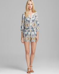 Twelfth Street Cynthia Vincent - Romper Lace Inset - Lyst