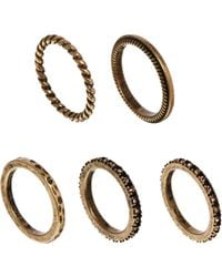 Mango - Five Ring Pack - Lyst