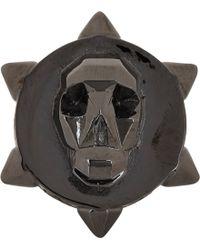 Ambush - Skull Ring-Black Size Medium - Lyst