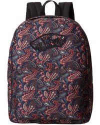 Vans Red Realm Backpack - Lyst
