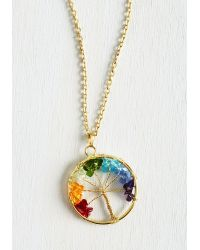 Zad Fashion Inc. - Tree Of Blithe Necklace - Lyst