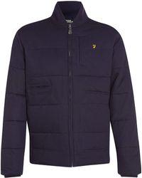 Farah Vintage Padded Jacket - Navy - Lyst