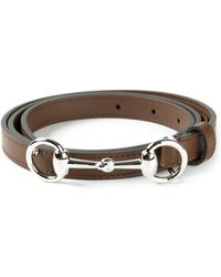 Gucci Horsebit Buckle Belt - Lyst