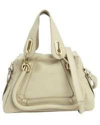 Chloé Baobab Green Leather Paraty Small Convertible Bag - Lyst
