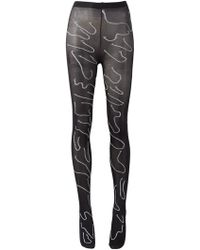 Claire Barrow - Exposed Seam Tights - Lyst