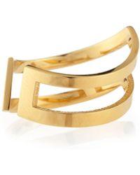 Jennifer Zeuner Mabel 18K Gold Vermeil Midi Ring - Lyst