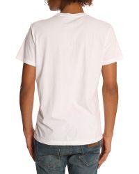 Diesel The King White Tiger Print T-Shirt - Lyst