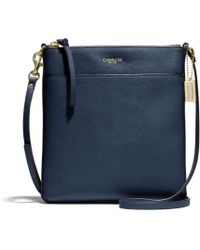 Coach Northsouth Swingpack in Saffiano Leather - Lyst