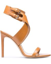 Bally Cecyly Light Cuoio Leather Sandal - Lyst