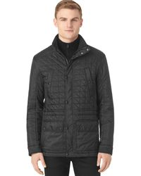 Calvin Klein Quilted Four Pocket Jacket - Lyst