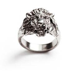 Lulu Frost G Frost Bravery Ring  White Bronze - Lyst