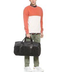 Rvca Lampoons Duffel Bag In Black For Men